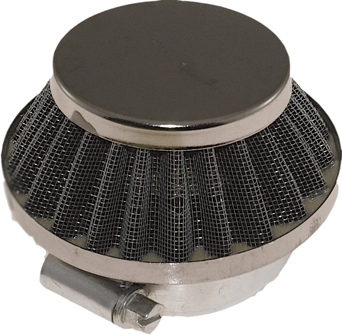 Air Filter 42mm 1.7 inch Wire Mesh Short Cone