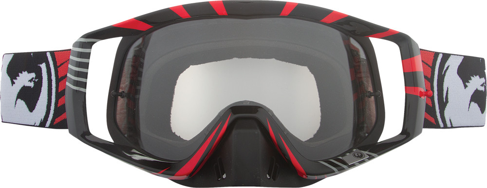 Vendetta Goggle Vox Red W/Clear Aft Lens