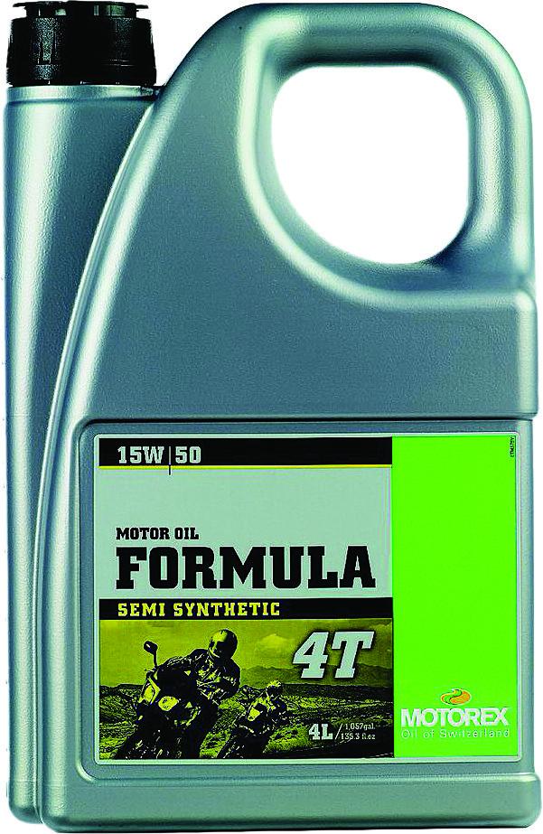 Formula 4T 15W50 (4 Liters)