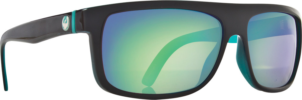 Wormser Sunglasses Teal W/Green Ion Lens