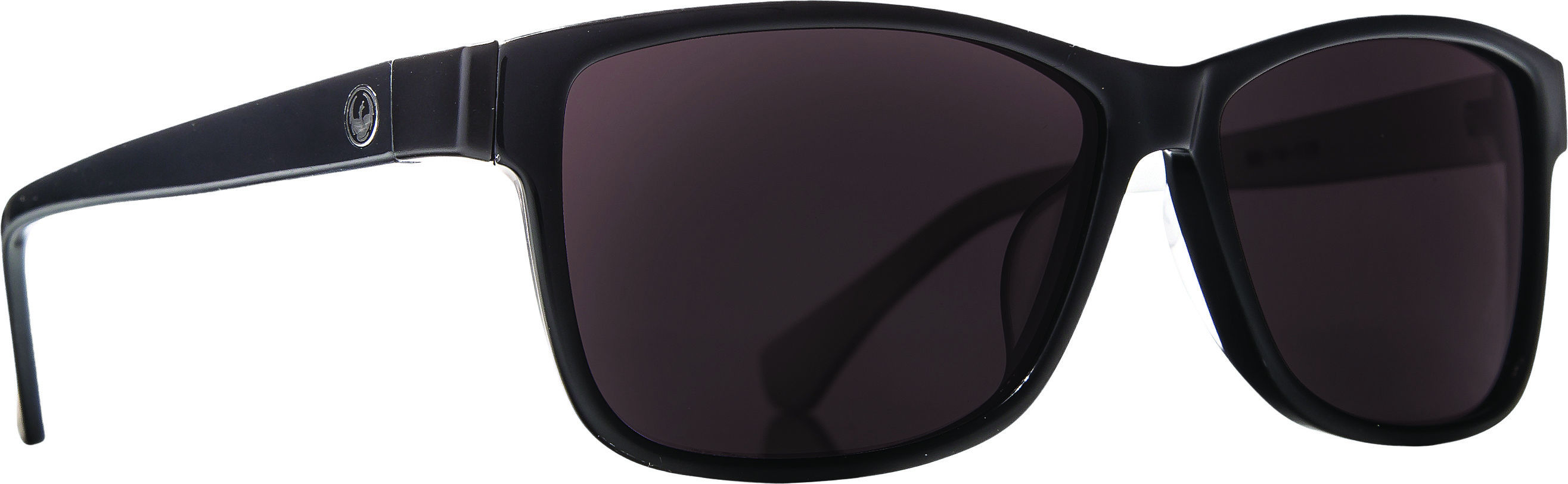 Exit Row Sunglasses Jet Black W/Grey Lens
