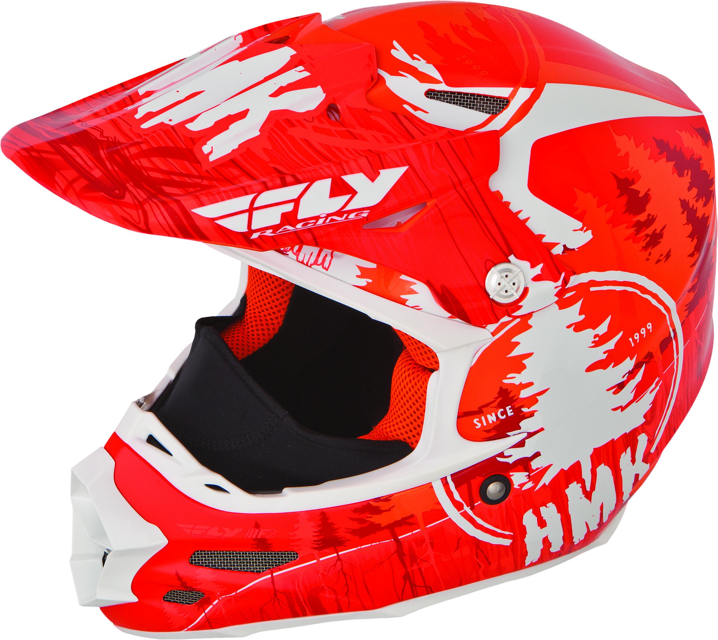 F2 Carbon Hmk Pro Stamp Helmet Orange/White 2X