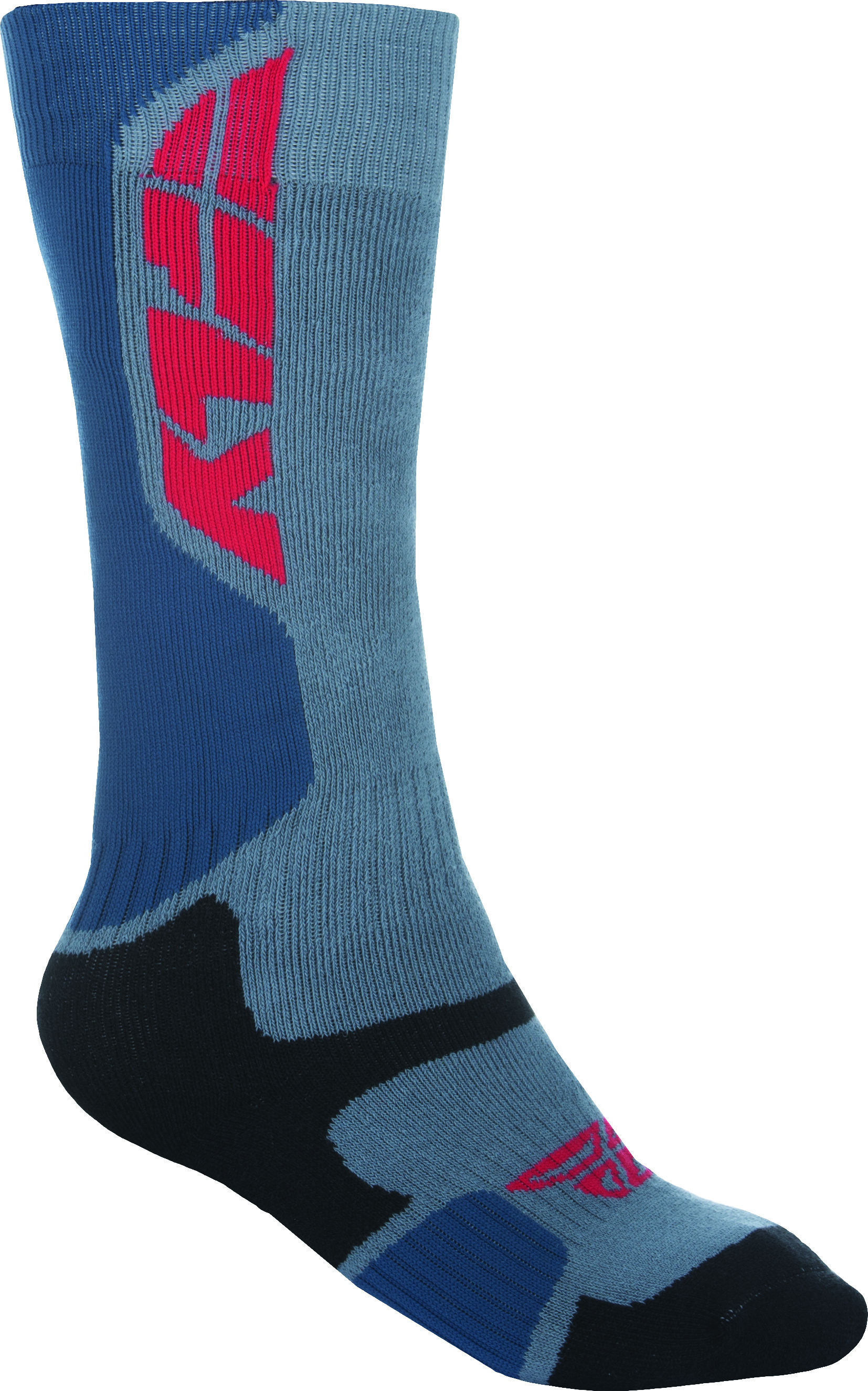 Mx Pro Sock Thick Grey/Black L/X