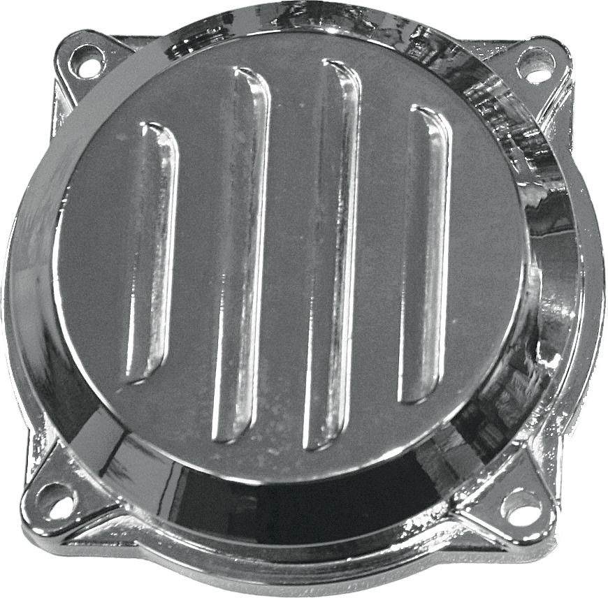 Harddrive Chrome Louvered Carburetor Top Cover 88-06 Harley Dyna Touring Softail