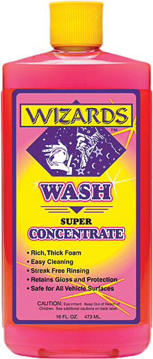 Wizards 16oz Super Concentrate Universal Motorcycle Bike Wash for Harley