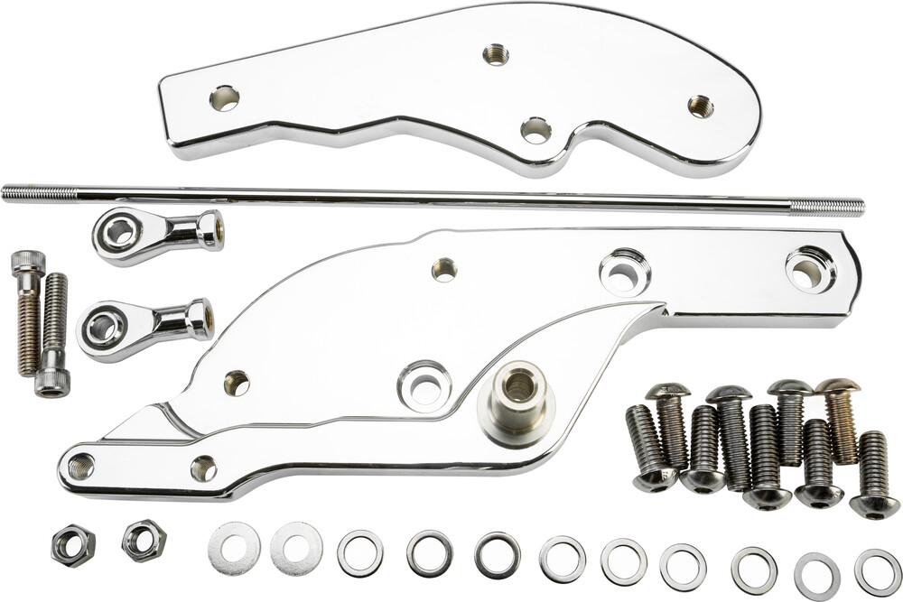 Harddrive Chrome +3 Forward Control Extension Kit 18-20 Harley Softail FLFB FXFB