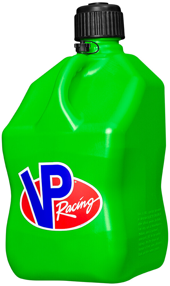 VP Racing 5 Gallon Green Motorcycle UTV ATV Offroad MX Racing Fuel Container