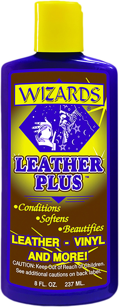 Wizards 8oz  Leather Plus Universal Motorcycle Seat Saddlebag Apparel Treatment