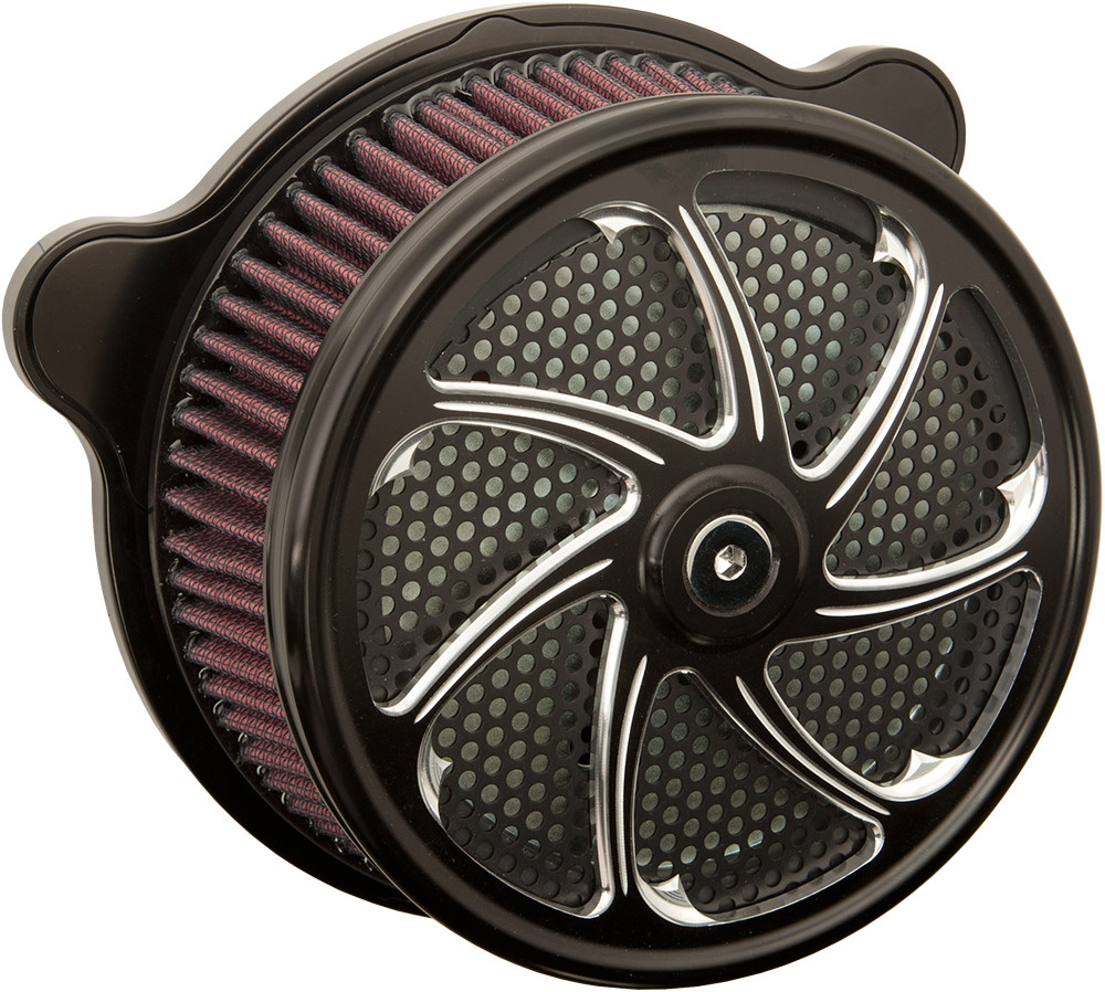 Harddrive Flow Twin Cam Evo Black Air Filter 91-17 Harley Dyna Softail Touring