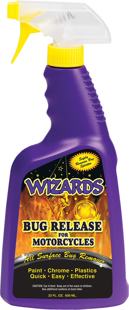 Wizards all Surface Bug Remover 22oz Motorcycle Bike Spray Bottle for Harley