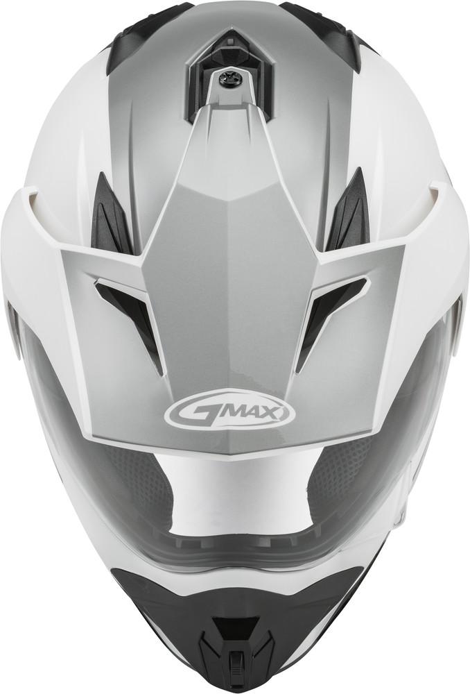 Matte Black//Grey//Large GMAX GM-11 Scud Adult Dual Sport Motorcycle Helmet