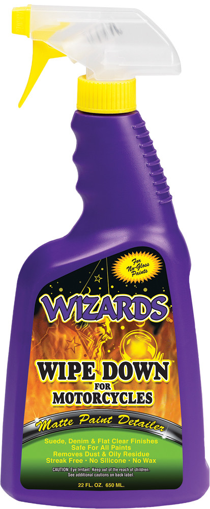 Wizards Wipe Down Single 22oz Motorcycle Bike Spray Bottle for Harley