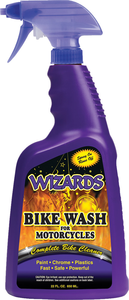 Wizards Complete Bike Wash Single 22oz Motorcycle Bike Spray Bottle for Harley
