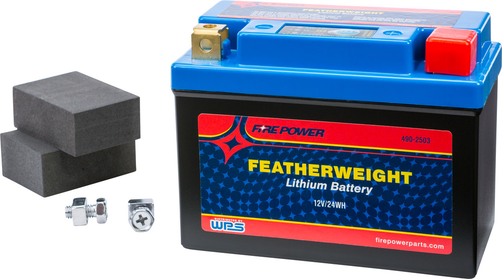 Featherweight Lithium Battery Fire Power