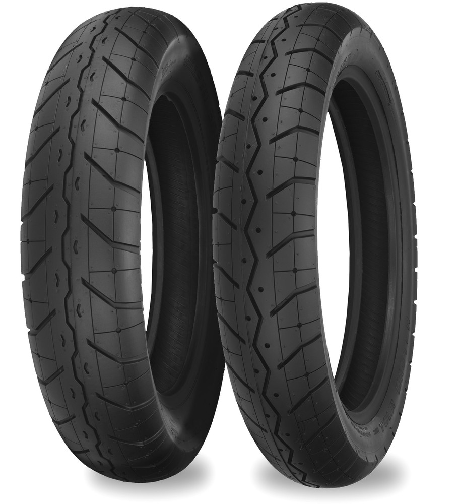120//90-18 Shinko 230 Tour Master Front Tire