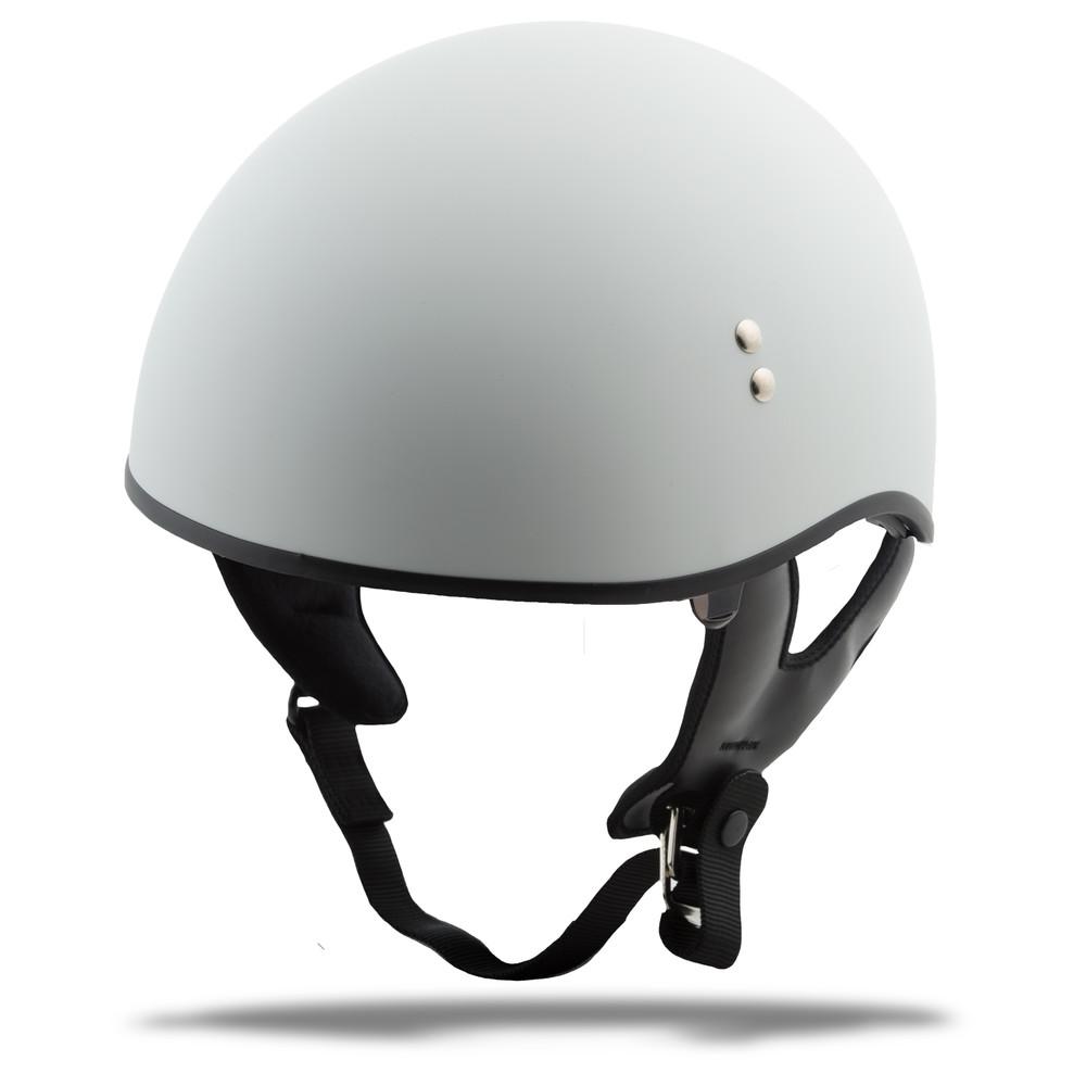 GMax HH-65 Half Helmet Naked Matte Black