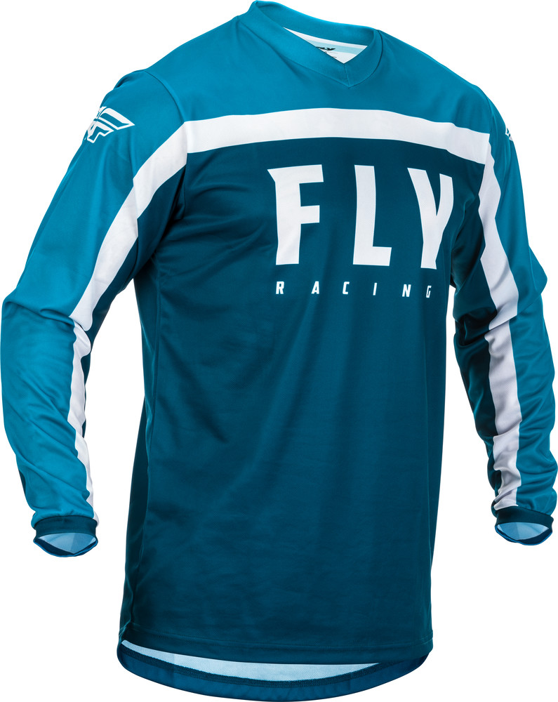 Fly Racing Mens Navy//Blue//White F-16 Dirt Bike Jersey and Pants Combo Kit 2020