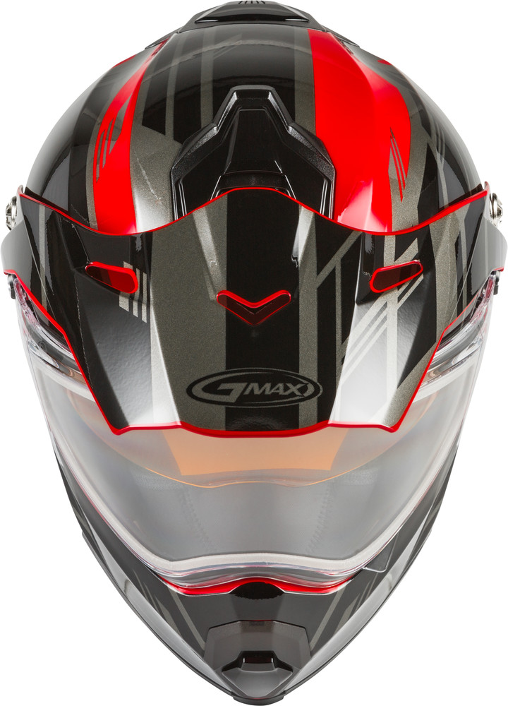 Clear//One Size GMAX AT-21//Y Shield Electric with Cord Kit Street Motorcycle Helmet Accessories