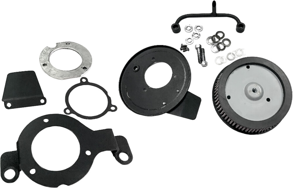 Harddrive M8 Black High Performance Air Cleaner Filter Kit 17-18 Harley Touring