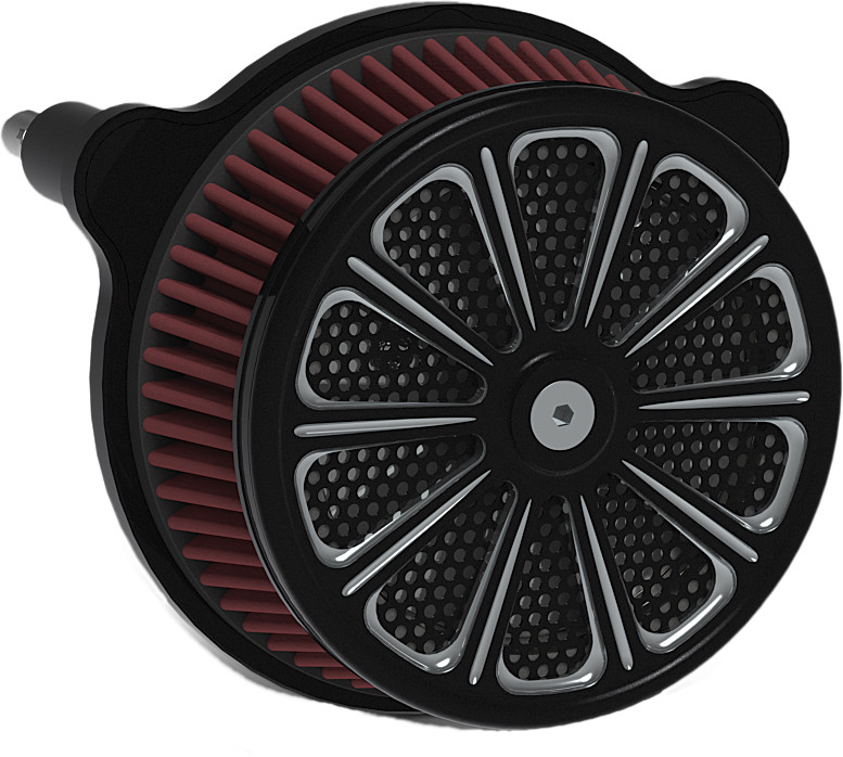 Harddrive Luck Black Twin Cam Evo Air Filter 91-17 Harley Dyna Softail Touring