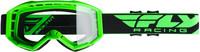 2019 Focus Goggle Hi-Vis Green W/Clear Lens