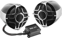 "Boss Audio 4"" HANDLEBAR MOUNT 1000W 2-SPEAKER SYSTEM"