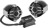 "Boss Audio 3"" HANDLEBAR MOUNT 600W 2-SPEAKER SYSTEM"
