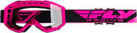 2019 Focus Goggle Hi-Vis Pink W/Clear Lens
