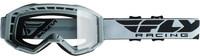 2019 Focus Goggle Grey W/Clear Lens