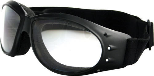 CRUISER SUNGLASSES BLACK W/CLEAR LENS