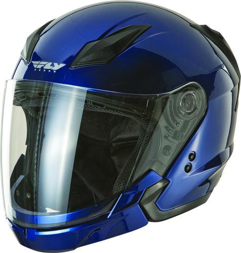 Titanium Large Fly Racing Tourist Helmet