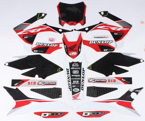 Honda Raceline Graphics Complete Kit Black 862-1203