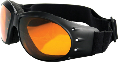 CRUISER SUNGLASSES BLACK W/AMBER LENS