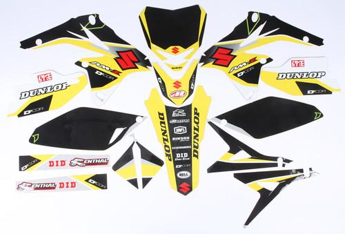 Suzuki Raceline Graphics Complete Kit Black 862-4202