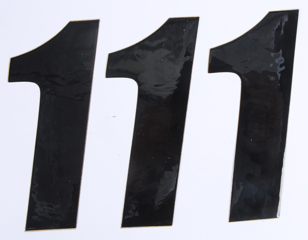 Number 1 Black 6