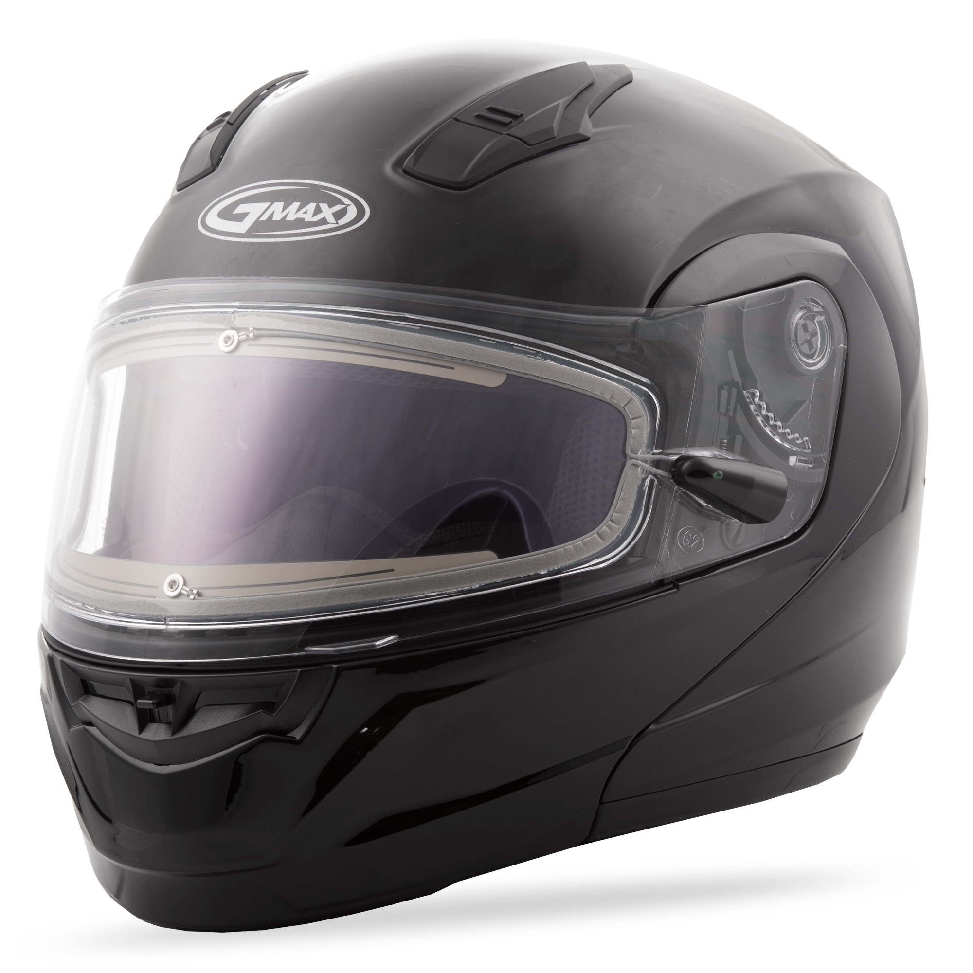 MD-04S Snow Helmet Solid w/Electric Shield