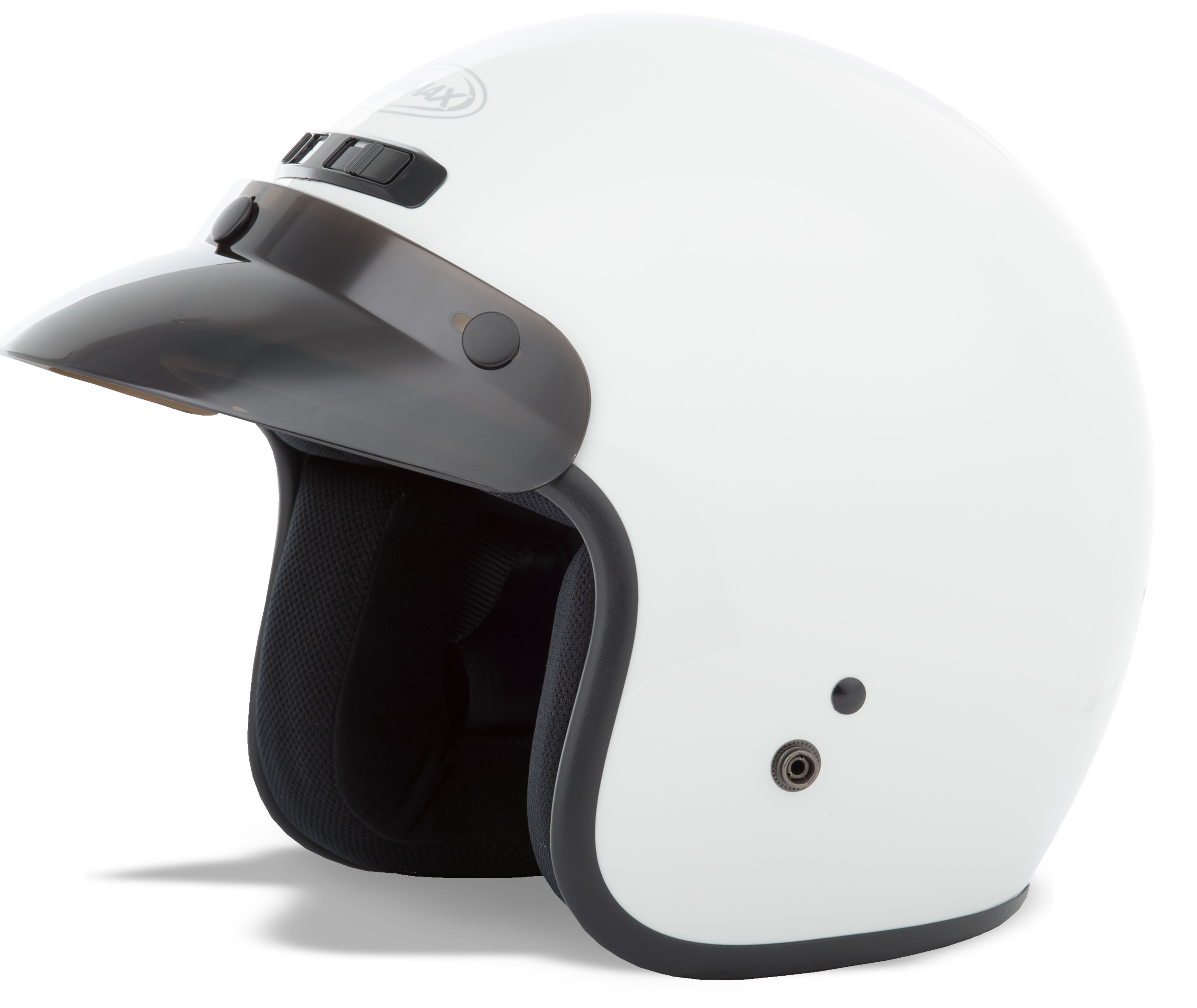 YOUTH GM-2 Open-Face Helmet,  White YL-YX 72-5351YL