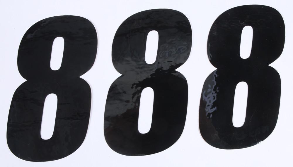 Number 8 Black 6