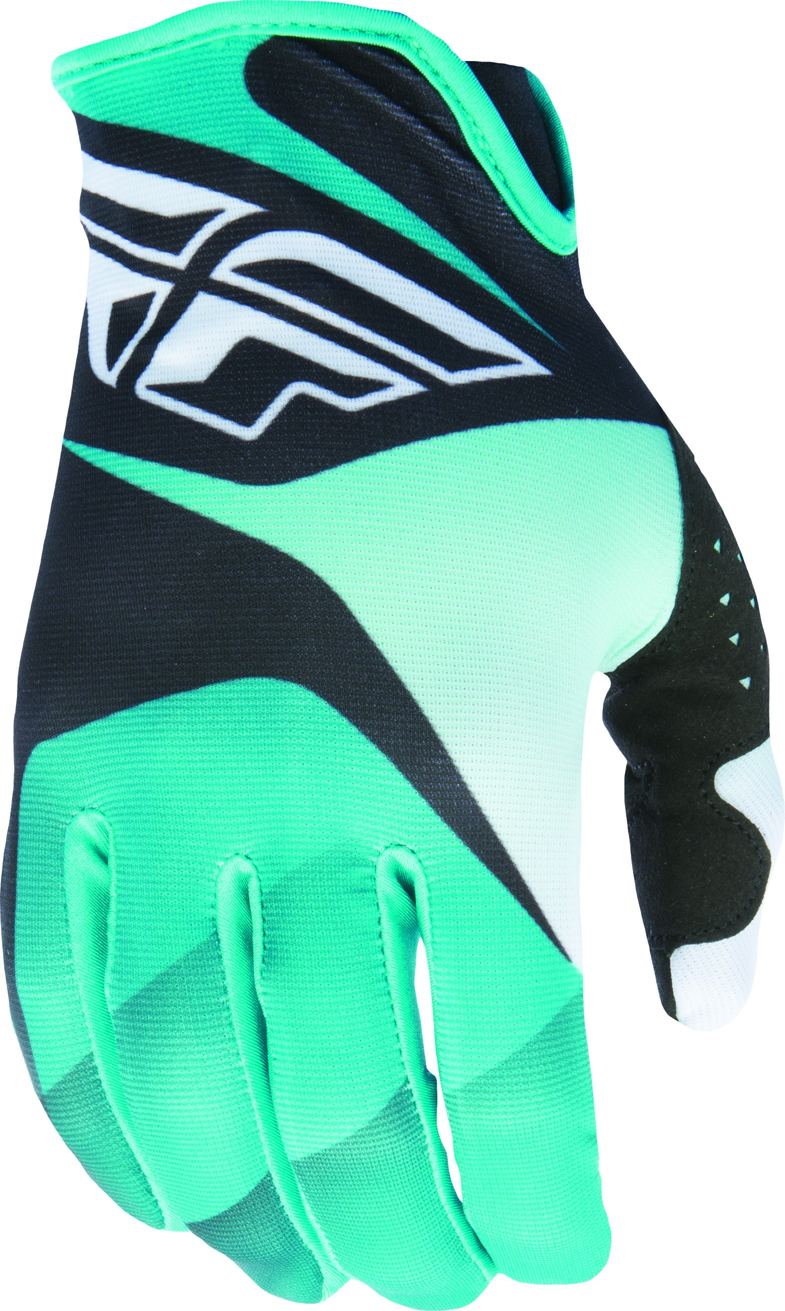 LITE GLOVE BLACK/WHITE/TEAL SZ 13 3X (370-01013)