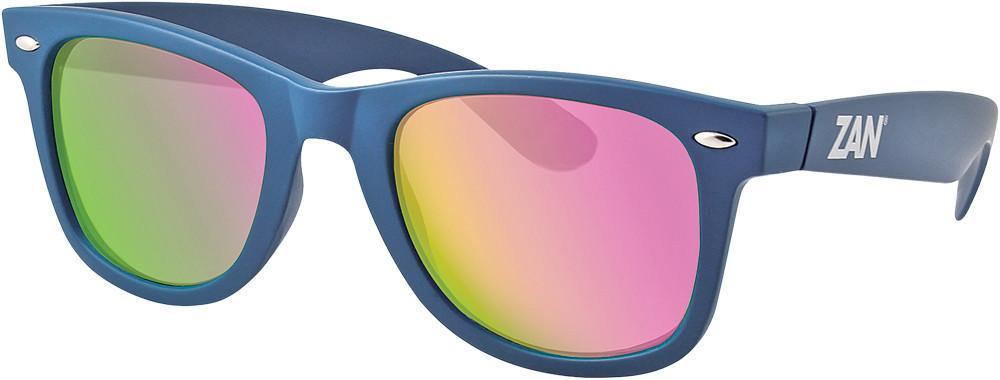 Throwback Winna Sunglasses Steel Blue Smoke Purple