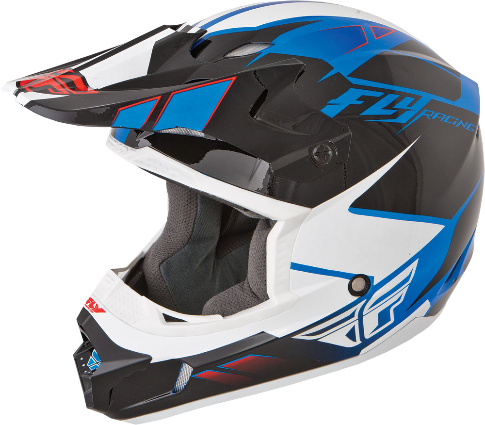 KINETIC IMPULSE Helmet Blue Black White,  YM  73-3363YM