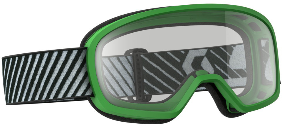 Buzz Mx Goggle Green W/Clear Lens