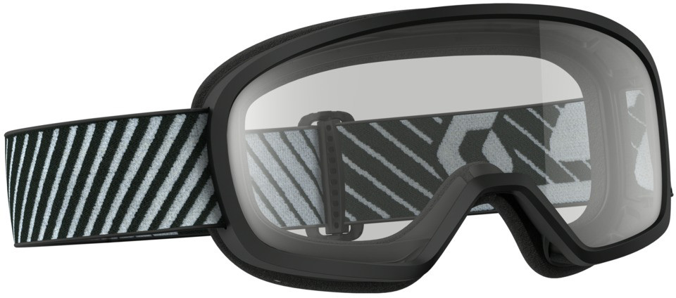 Buzz Mx Goggle Black W/Clear Lens