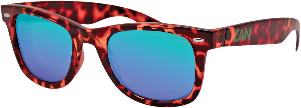 Throwback Winna Sunglasses Tortoise Smoke Green