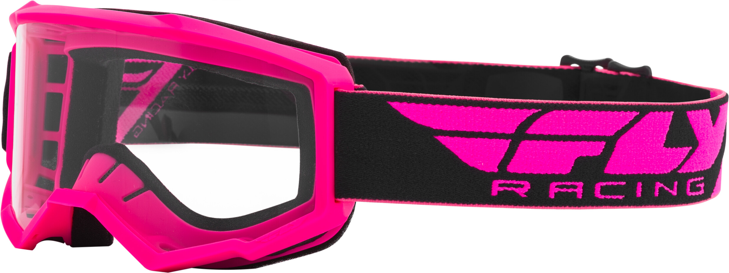 FOCUS GOGGLE PINK W/CLEAR LENS