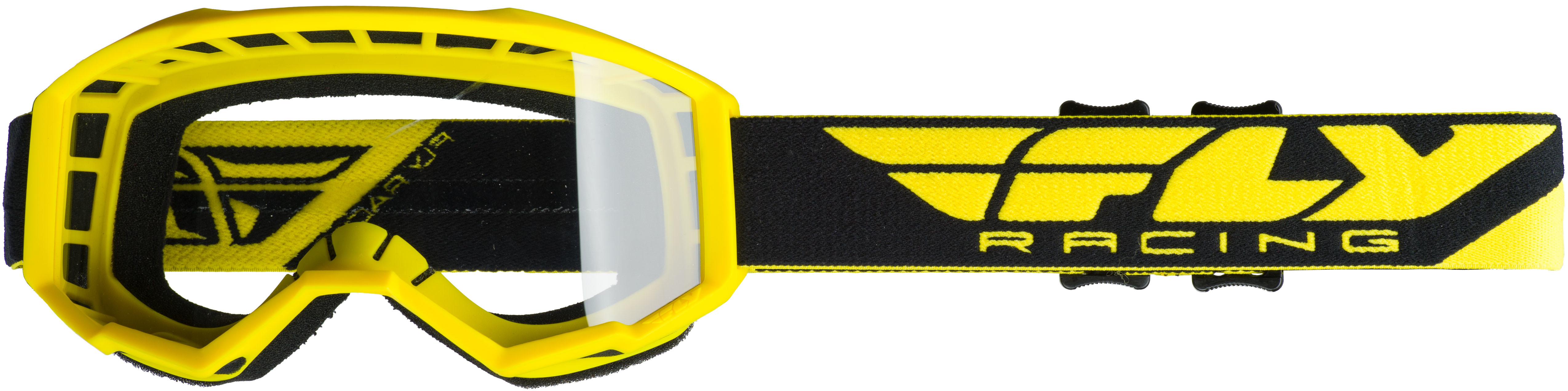2019 Focus Youth Goggle Yellow W/Clear Lens
