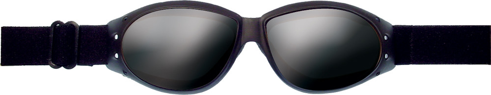 CRUISER SUNGLASSES BLACK W/SMOKE REFLECTIVE LENS