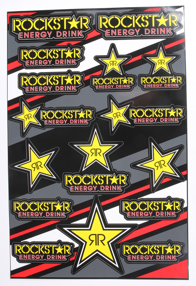Fly/Rockstar Decal Sheet 862-90108