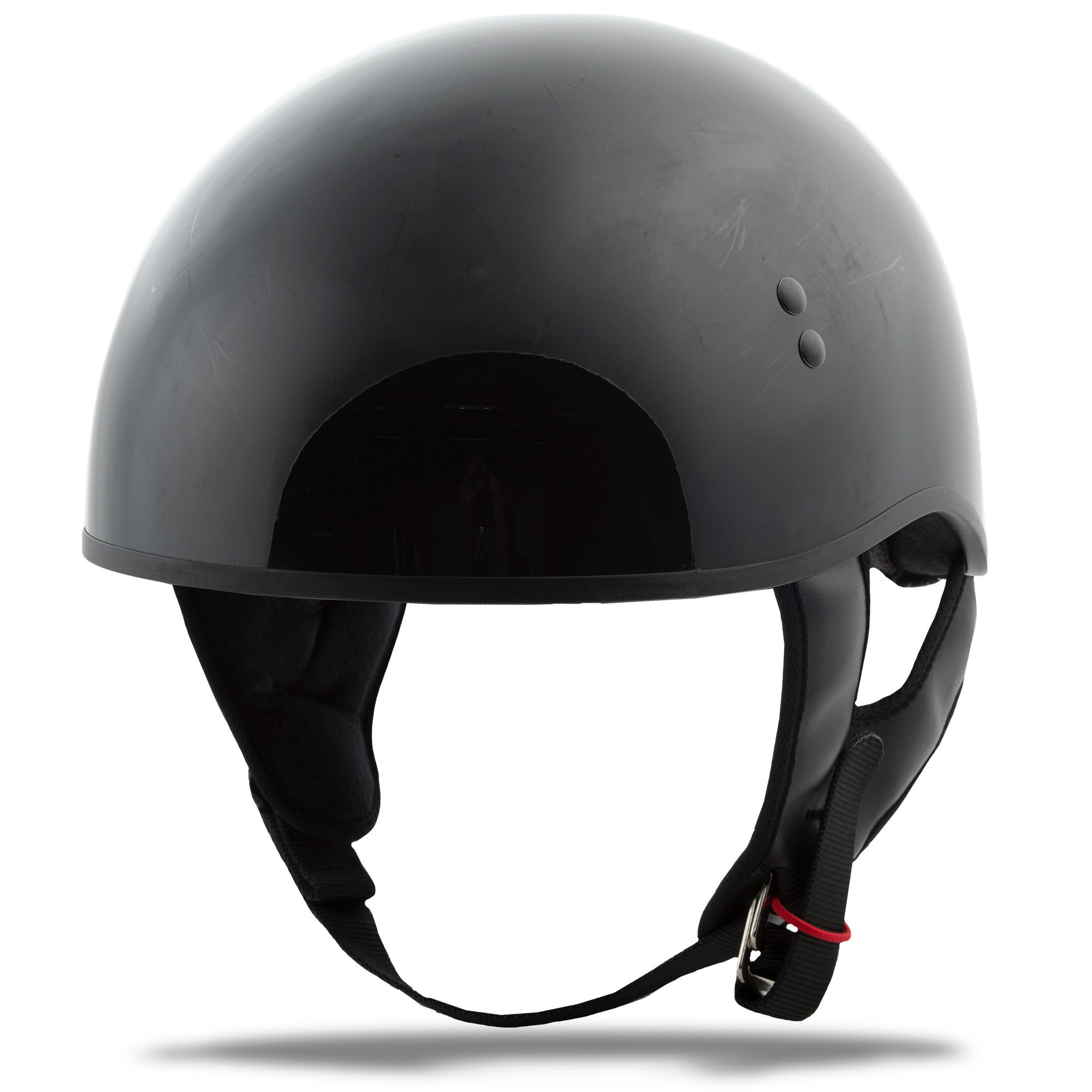 GM-45 HALF Helmet Naked,  Black MD 72-6430M