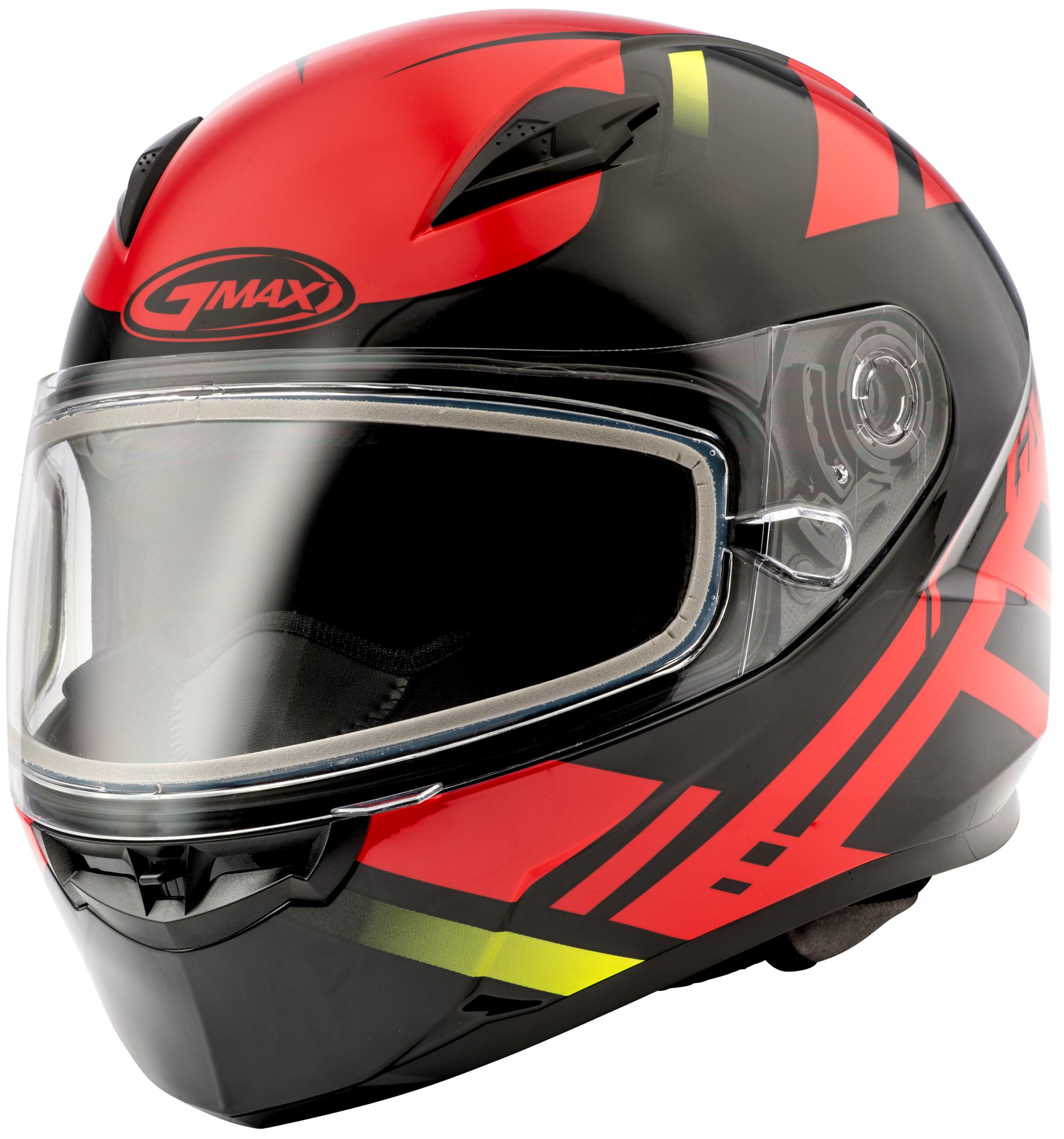 FF-49 FULL-FACE Berg Snow,  Helmet BLACK RED 72-6321L